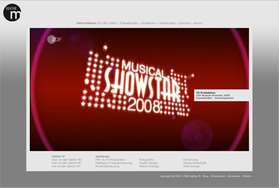 Homepage: Sektor M