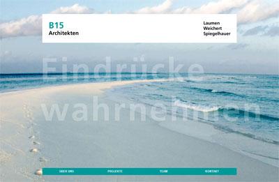 B15 Architekten Homepage