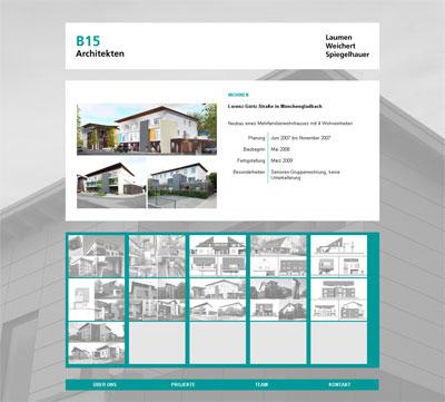 B15 Architekten Projekte