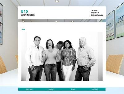 B15 Architekten Team