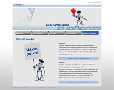 Eurobots B2B Screenshot