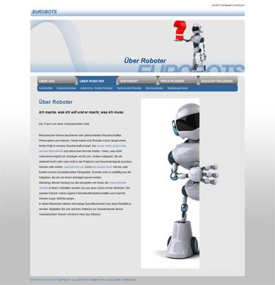 Eurobots Roboter Screenshot
