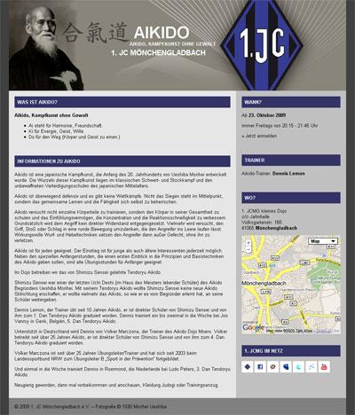 Grafik Aikido Homepage