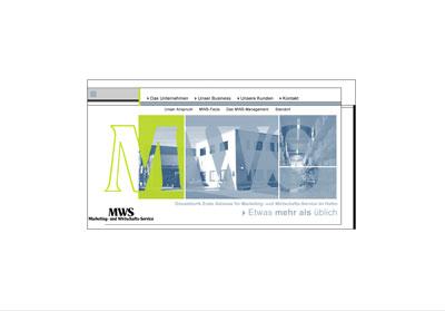 Grafik: MWS Homepage alt