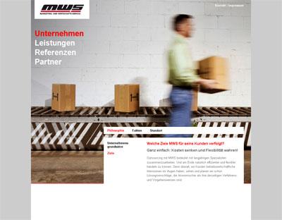 Grafik: MWS Homepage neu
