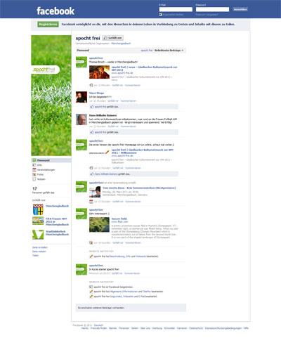 spocht frei! bei Facebook