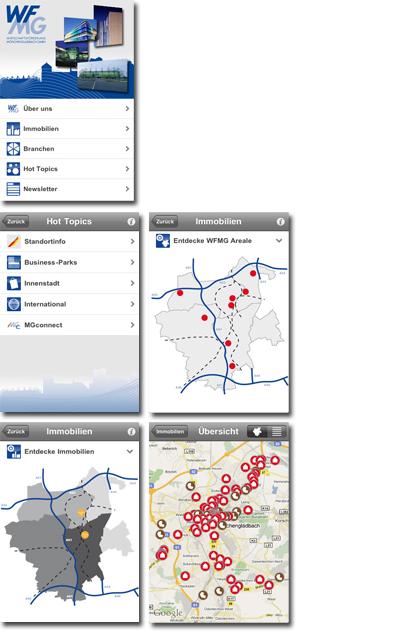 WFMG iPhone App Screenshots
